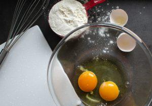 блины, блинчики, яйца, подготовка, пошагово